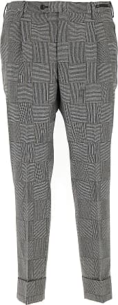 PT01 Pants for Men On Sale, Grey, Virgin wool, 2017, 30
