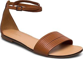 Vagabond Tia Shoes Summer Shoes Flat Sandals Brun VAGABOND