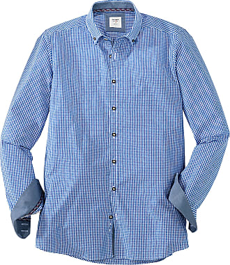 Olymp Olymp Shirt Costume Shirt Level 5 Body Fit Blue / White - Blue - XL