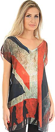 101 Resort Wear Blusa 101 Resort Wear Tunica Bandeira Inglesa
