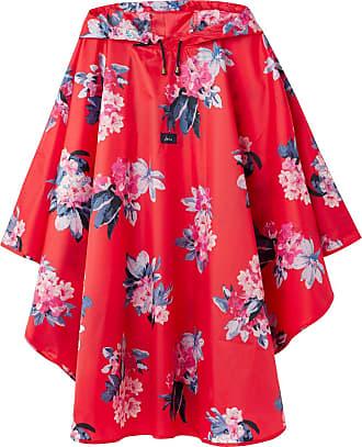 Joules Regencape Poncho Floralred