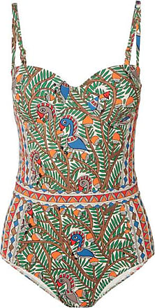 Tory Burch Printed Swimsuit - Blue