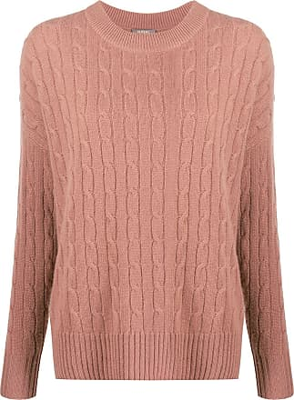 N.Peal cable-knit cashmere jumper - Brown