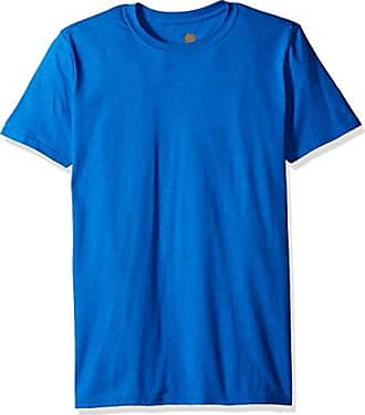 Gold Toe Mens Crew Neck T-Shirt, Royal, Small