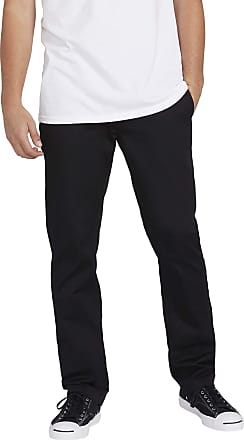Volcom mensA1131807Volcom Mens Frickin Modern Fit Stretch Chino Pant Casual Pants - Black - 34W x 34L