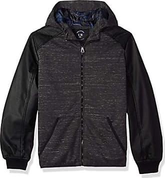 Urban Republic Mens Melange Jersey Jacket, Gray, L