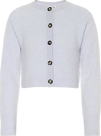 Acne Studios Cardigan cropped in misto lana