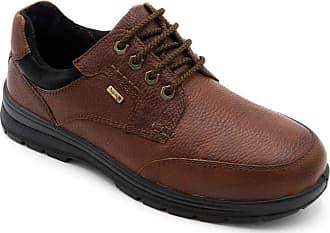 Padders Terrain Mens Leather Wide (G/H) Waterproof Shoes Tan UK 9.5