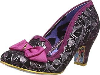 Irregular Choice Womens Kanjanka Closed Toe Heels, Pink (Pink/Black Aj), 6.5 (40 EU)