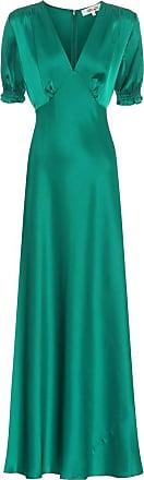 Diane Von Fürstenberg Idris satin gown