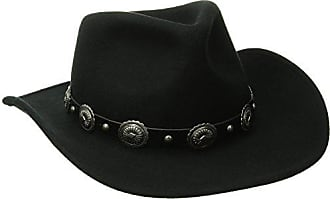 f4f9185df56e8d San Diego Hat Company San Diego Hat Co. Mens Wool Felt Cowboy Hat, Black
