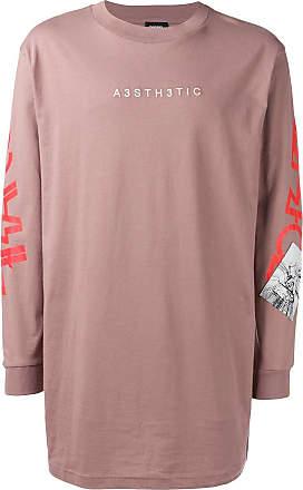 Diesel T-Lucas-LS-YB sweatshirt - Pink