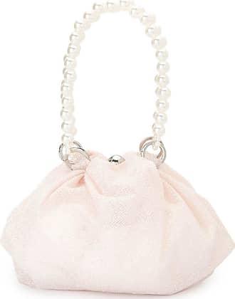 0711 Shu sparkly blush tote bag - PINK