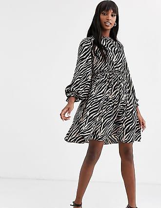 Y.A.S. Tall Aritta tiger print smock dress-Multi