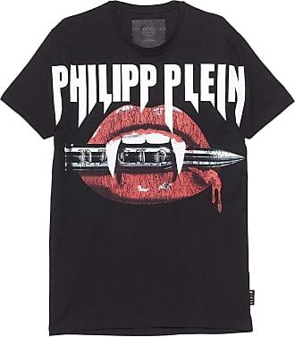 Philipp Plein Fashion Man MTK4415PJY002N02 Black Cotton T-Shirt | Spring Summer 20