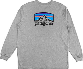 Patagonia Fitz Roy Horizon Responsibili Long Sleev gravel heather