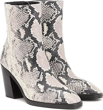 Stuart Weitzman Wynter 80 snake-effect ankle boots