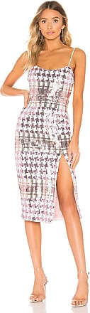 X by NBD Offred Midi Dress in Pink
