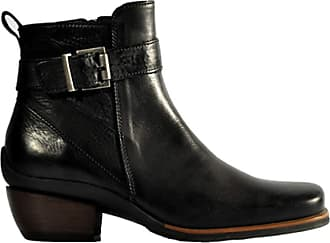 Wolky Comfort Boots Bronson - 30000 Black Leather - 39