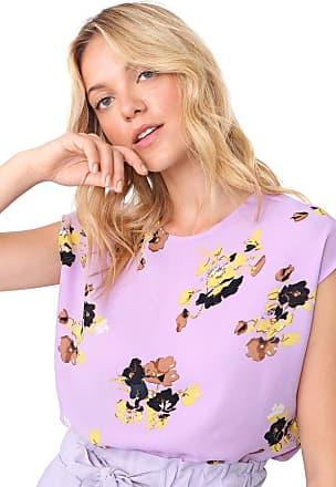 Vero Moda Blusa Vero Moda Floral Lilás