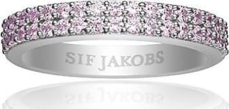 Sif Jakobs Jewellery Ring Corte Due with soft rose zirconia