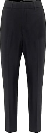Vince High-rise slim crêpe pants