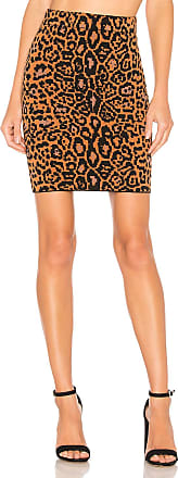 House Of Harlow x REVOVLE Heat It Up Skirt in Brown