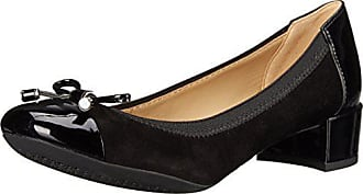 Geox Womens Carey14 Dress Pump, Black, 39 BR/9 M US
