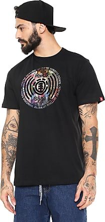 Element Camiseta Element Rise In Shine Preta