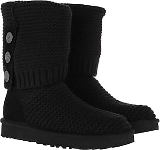 UGG Boots & Booties - W Purl Cardy Knit Black - black - Boots & Booties for ladies