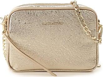 Lancaster Shoulder Bag for Women On Sale, Gold, Leather, 2017, one size