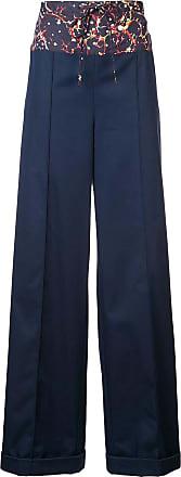 Rosie Assoulin Calça flare - Azul