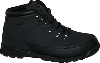 Groundwork MENS WORK BOOTS, MENS SAFETY BOOTS, GR77 STEEL TOE CAP BOOT BY GROUNDWORK (UK13, black)
