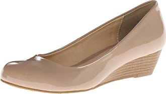 Chinese Laundry Womens Marcie Wedge Pump, New Nude Patent, 7 W US
