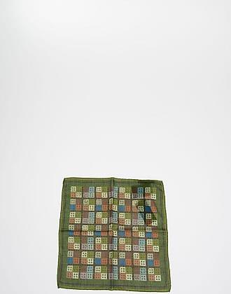 Roda Checked Pocket Square Größe Unica