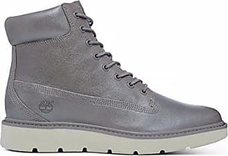 Grau – Timberland Kenniston 6 Inch Boot Hellgrau Damen Steeple Grey Nubuck