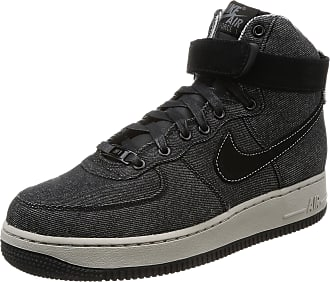 san francisco 3a277 1a1d2 Nike Nike Womens Wmns Air Force 1 Hi SE, Black Dark Grey-Cobblestone