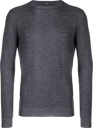 Zanone Suéter decote careca - Verde