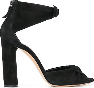 Casadei bow detail sandals - Black