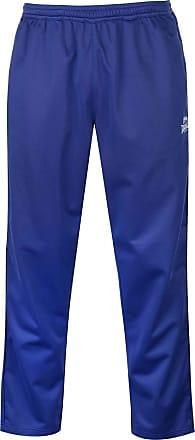 Lonsdale Mens Open Hem Woven Pants Tracksuit Bottoms Mesh Warm Drawstring Navy XL