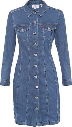 Levi's Vestido Jeans Aubrey Levis Womens - Azul