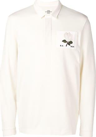 Kent & Curwen Camisa polo com patch de rosa - Neutro