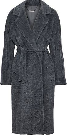 de839b443bb4 Elie Tahari Elie Tahari Woman Calissi Metallic Wool-blend Coat Charcoal  Size L