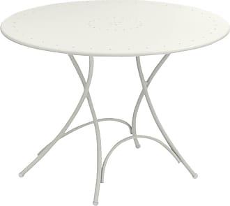 Emu Pigalle Gartentisch klappbar Ø105cm - weiß/lackiert/H x Ø 74x105cm