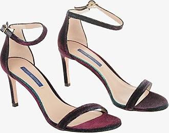 Stuart Weitzman Iridescent NUNAKEDSTRAIGHT Sandals 8 cm size 38,5