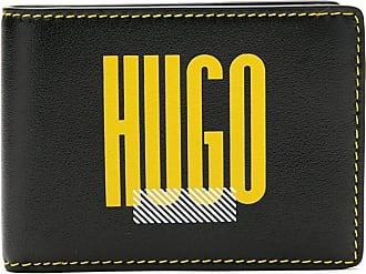 HUGO BOSS Carteira com logo - Preto