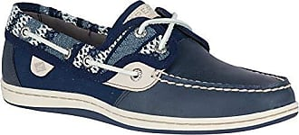 Sperry Top-Sider Womens Koifish Knit Boat Shoe, Navy, 075 M US