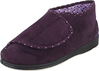 Padders Cherish 449 - Ee Fit Lilac Slippers UK: 9.0