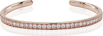 Sif Jakobs Jewellery Bangle Simeri - 18k rose gold plated with white zirconia