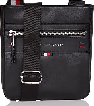 821a83cefd Tommy Hilfiger Sac bandoulière style reporter avec logo gaufré